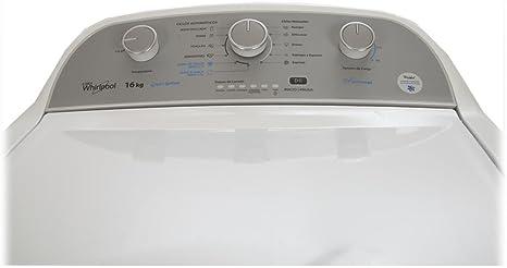 Whirlpool 8MWTW1600CM Independiente Carga superior 16kg 700RPM ...