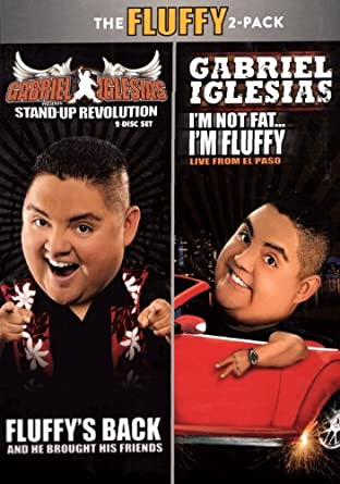 Amazoncom The Fluffy 2 Pack Gabriel Iglesias Presents Stand Up