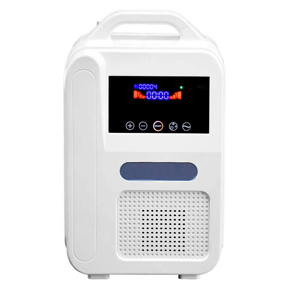 H HUKOER Portable Home Oxy-gen Conce-ntrator 1L/Min Air Purifier,with Car Adapter use for Plug or Battery (ASIN:B07S23CHQD) ... by H HUKOER