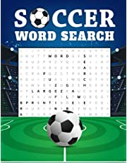 Soccer Word Search: Puzzle Book for Adults, Gift for Football Fans, Famous Players Names, Teams, Terms