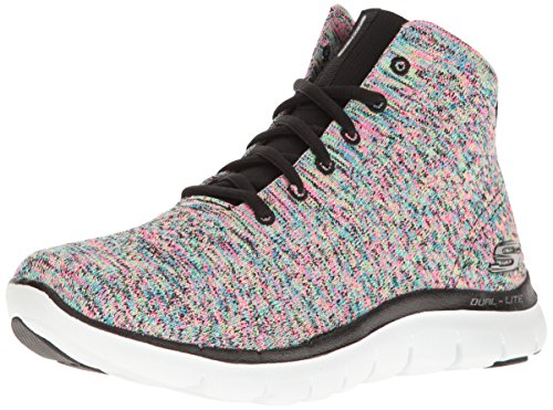 Skechers Sport Frauen Flex Appeal 2.0 In Code Fashion Sneaker Schwarz / Multi