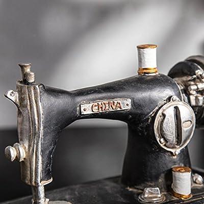 Modelo de máquina de coser antigua resina cafeterías escaparate de ...