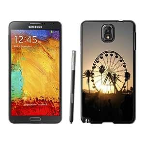 NEW Fashion Custom Designed Cover Case For Samsung Galaxy Note 3 N900A N900V N900P N900T Coachella Black Phone Case