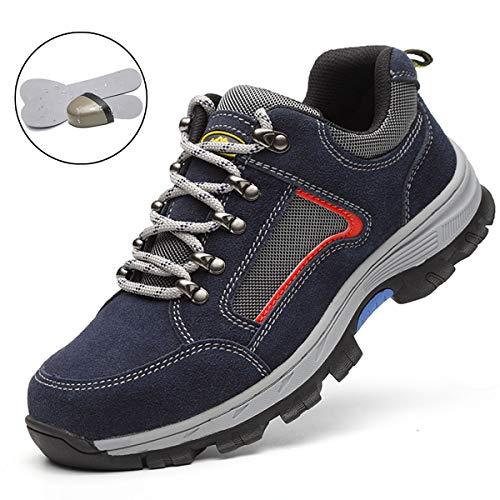 In Donna Acciaio Sportive Di Stile Punta S1 Scarpe Da Suadeex Lavoro Sneaker Con 06 blu Antinfortunistiche Uomo Unisex adulto Sicurezza p8w8FqS5