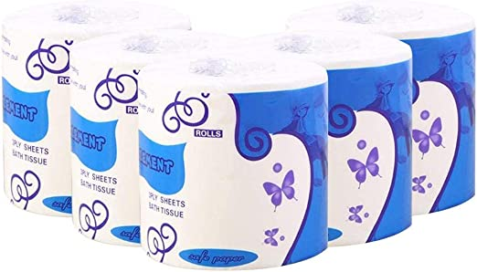 NEW Rolls Silky Smooth 3Ply Soft Toilet Paper Bath Toilet Tissue Daily Paper LOT