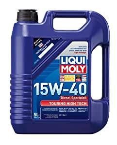 liqui moly 2044 touring high tech diesel 15w 40 motor oil 5 liter jug automotive. Black Bedroom Furniture Sets. Home Design Ideas