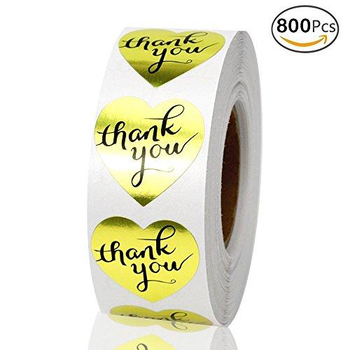 100 Kraft Heart label - 5