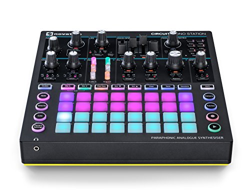 Novation Circuit Mono Station Paraphonic Analog Synthesizer by Novation