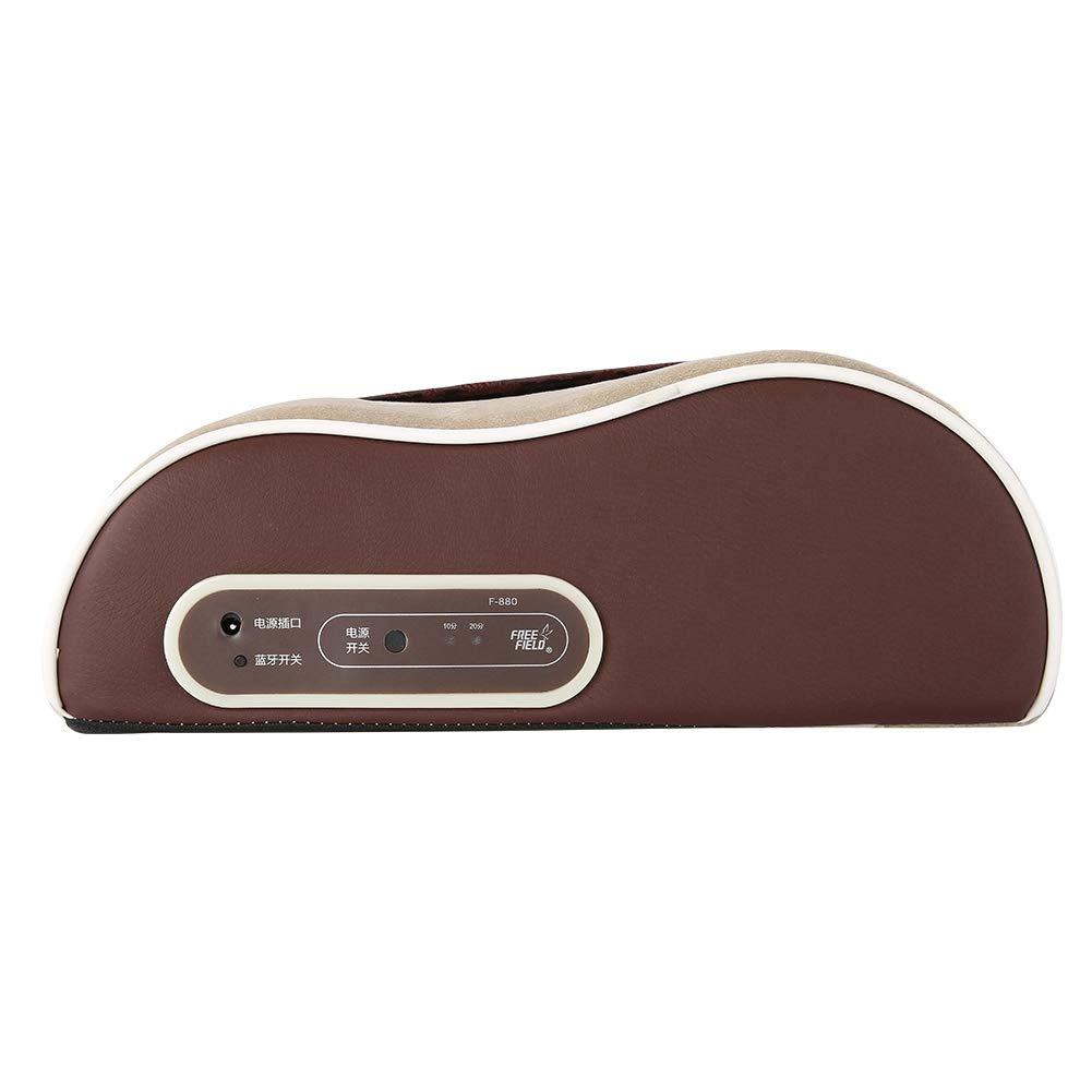 ラテックスマッサージ枕、3D混練マッサージヘッドを使用してマッサージ睡眠枕首の痛みを首の筋肉をマッサージします B07S6QYWYC