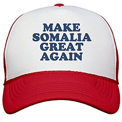 Make Somalia Great Again Hat: Snapback Mesh Trucker Hat