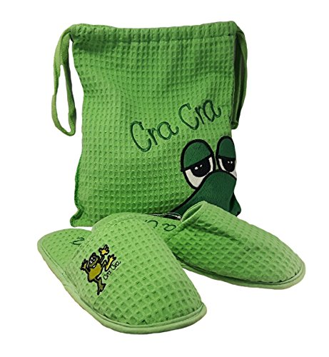 TENERAMENTE - Zapatillas de estar por casa de Material Sintético para mujer PUNTO E A CAPO Verde