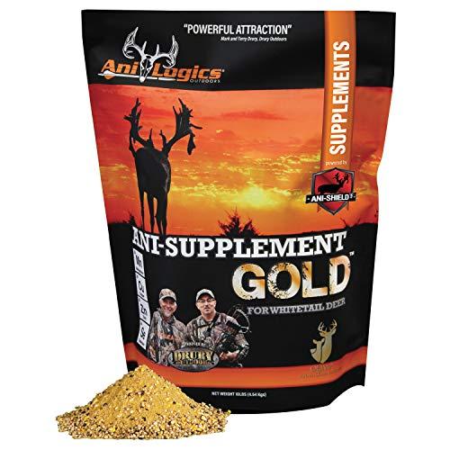 Ani-Logics Outdoors ANI-Supplement Gold, 10 lb (Best Deer Supplement Feed)