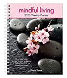Mindful Living 2020 6 x 7.75 Inch Weekly Desk Planner by Brush Dance, Art Quotes Photography Inspiration
