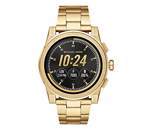 Michael Kors Men's Goldtone Grayson Smartwatch