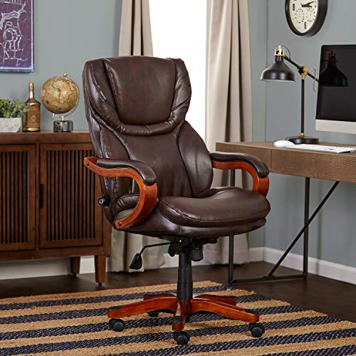 Serta 43506A Executive Office Chair Biscut