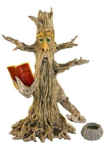 (Upright Poet Tree Man Stick & Cone Incense Burner 11
