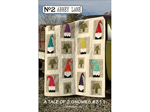 Two Gnome - Abbey Lane Quilts Tale of 2 Gnomes Ptrn 2