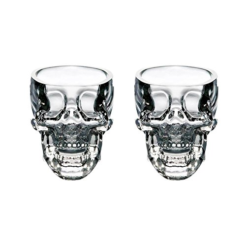 LanHong Crystal Skull Head Cup Pirate Shot Glass