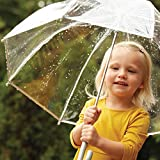 totes Kid's Bubble Umbrella with Easy Grip
