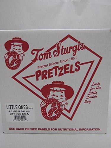 Tom Sturgis Little Ones Artisan Pretzels, 4.5 Lb. Box