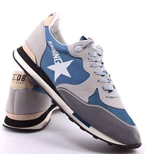 New Silver Grigio Uomo Blu Running Goose Blue Italy Sneakers Nuove Scarpe Golden XxTPq6fq
