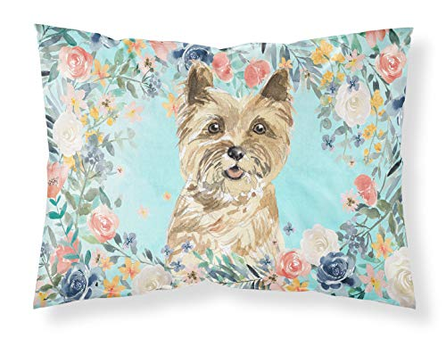 Caroline's Treasures Cairn Terrier Fabric Standard Pillowcases, Multicolor