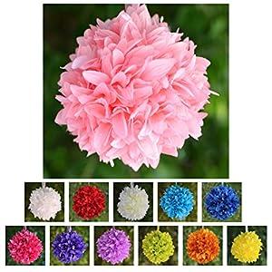 Efavormart 4 PCS Dahlia Silk Flower Balls for Wedding Party Events Centerpiece Decorations 22