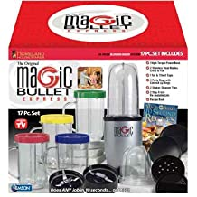 The Original Magic Bullet Express Blender System (as seen on TV! Includes 17 pieces)