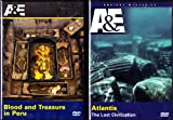 Atlantis The Lost Civilization , Blood And Treasure In Peru : A&E Explore Ancient Mysteries : 2 Pack Collection