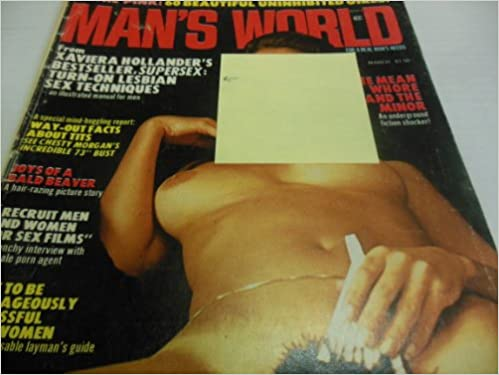 "Man's World Men's Magazine ""Xaviera Hollander"" ""Joys of Bald ..."