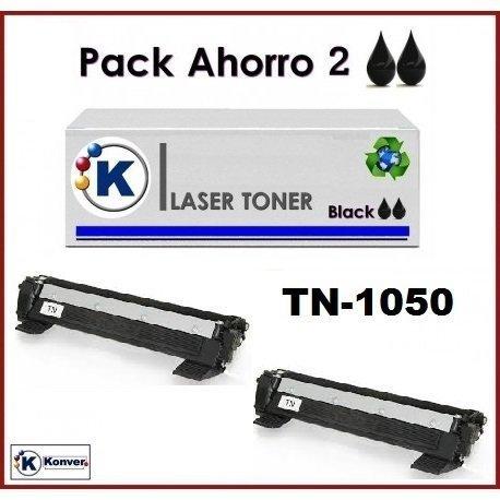 Brother DCP-1612W 2 Cartucho Tóner compatible Negro. Para ...
