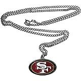 aminco NFL Womens NFL Logo Pendant Necklace