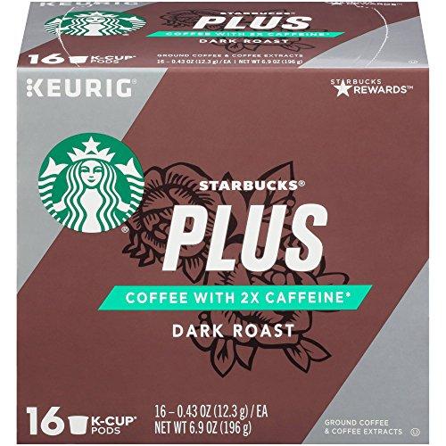 Starbucks Keurig K-Cups Plus Dark Roast (16 pods),6.9oz, pack of 1
