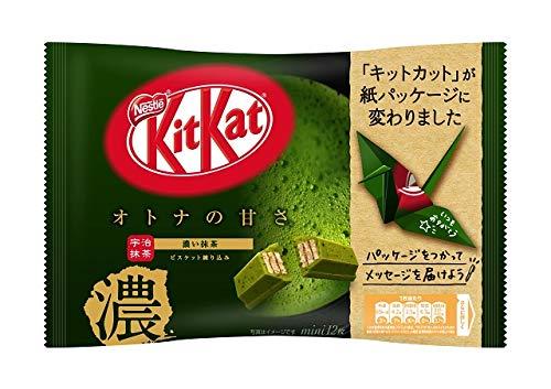 Nestlé Japan Kit Kat Mini Matcha Tea Adult Sweetness 12 bar