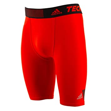 70ee942d4b56c Amazon.com: adidas Techfit Cool Short Tights - X Large - Red: Clothing