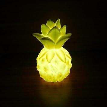 LED Light LavanyR Table Night Cartoon Pineapple For Bedroom Party Wedding