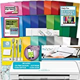 Silhouette Cameo 3 Machine Bundle Vinyl Starter Bundle- 25 Sheets Oracal 651 Permanent Vinyl with Transfer Paper, Tools, Vinyl designs, PixScan Mat