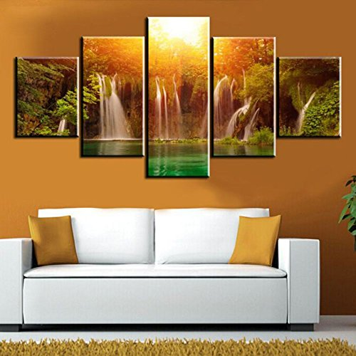 Canvas Wall Art Modular Picture 5 Panel Frames HD Print