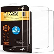 Fire HD 8 Screen Protector,[2Pack](6th Gen-2016 Release)by Ailun,Tempered Glass,9H Hardness,2.5D Edge,Ultra Clear,Anti-Scratch,Case Friendly-Siania Retail Package