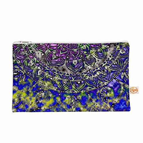 Kess eigene 12,5x 21,6cm Li zamperini Mehrfarbig Mandala Art Alles Tasche–Blau