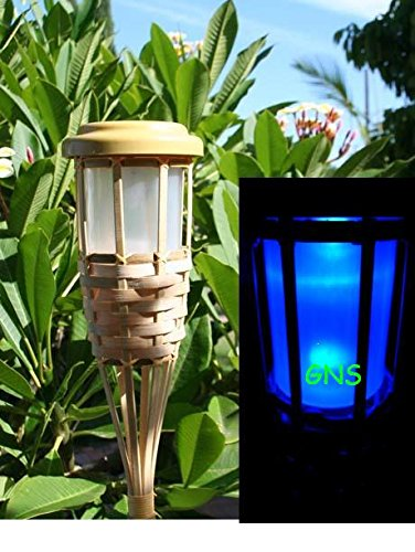 Bamboo Solar Light in US - 9