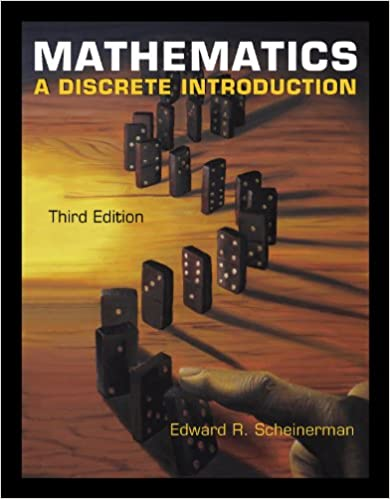 Mathematics a discrete introduction 003 edward a scheinerman mathematics a discrete introduction 3rd edition kindle edition fandeluxe Images