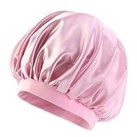 Satin Night Caps for Women,Elastic Sleep Hair Bonnets,Hair Cover Chemo Hats