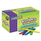 Chenille Kraft 1000 Colored Wood Craft Sticks