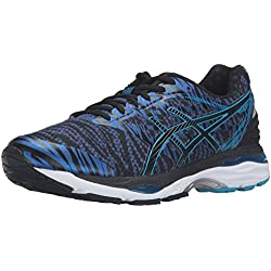 ASICS Men's Gel-Cumulus 18 BR Running Shoe, Deep Blue/Black/Island Blue, 9.5 M US