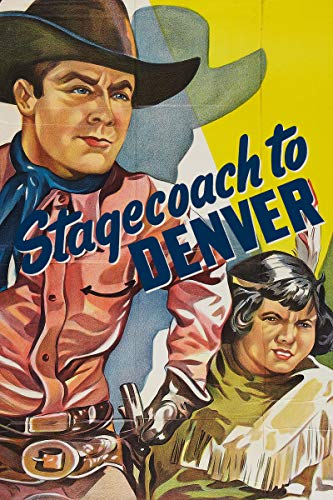 Stagecoach to Denver, used for sale  Delivered anywhere in USA