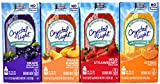 Crystal Light On The Go With Caffeine Drink Mix Variety Pack, 4 Flavors, 12 Boxes of Each Flavor, 48 Boxes Total