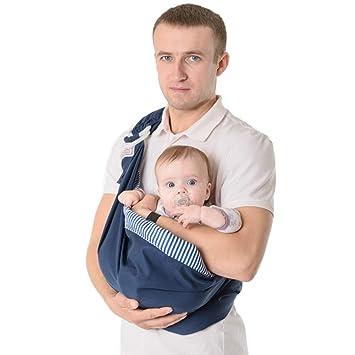 Portabebés Elásticos Portador Bebé Recién Nacidos De Algodón Pañuelo ...