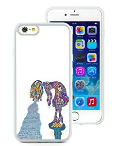 Unique And Durable Custom Designed Case For iPhone 6 4.7 Inch TPU With foster the people supermodel White Phone Case