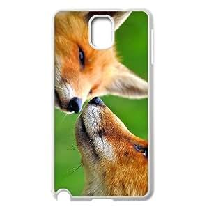 WJHSSB Customized Print Fox Hard Skin Case Compatible For Samsung Galaxy Note 3 N9000
